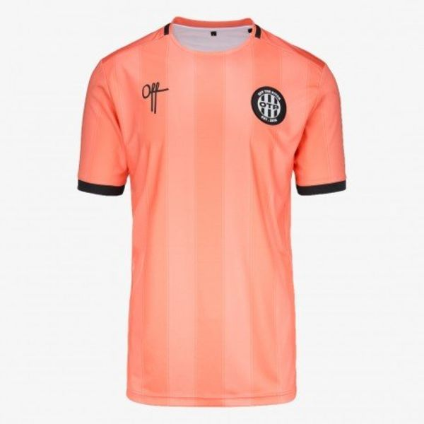 Off The Pitch Home T-Shirt Fresh Salmon