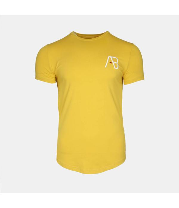 AB-Lifestyle AB Tee The Paint Yellow