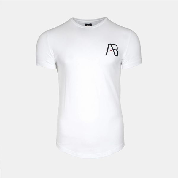AB Tee The paint White