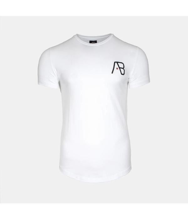 AB-Lifestyle AB Tee The paint White