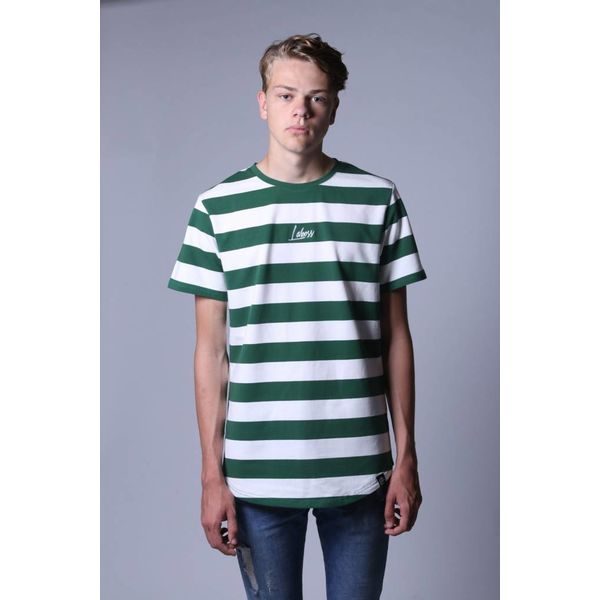 Laboss Stripe Tee Green