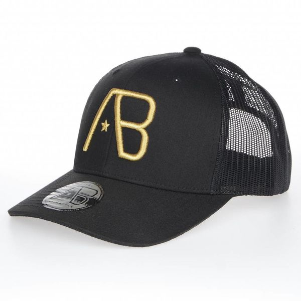 AB Retro Trucker Black/Gold