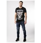 My Brand My Brand Skull Cat T-shirt Black