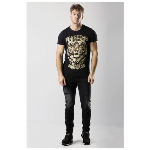 My Brand Fearless Lion T-Shirt Black
