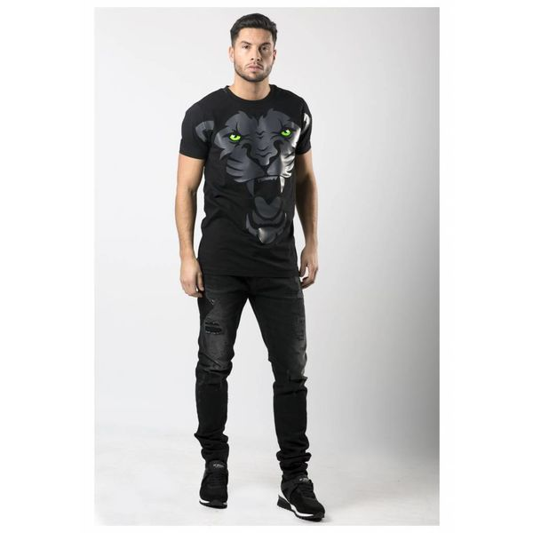 My Brand Angry Lion T-Shirt Black