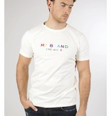 My Brand My Brand Logo Colored T-Shirt Off-White