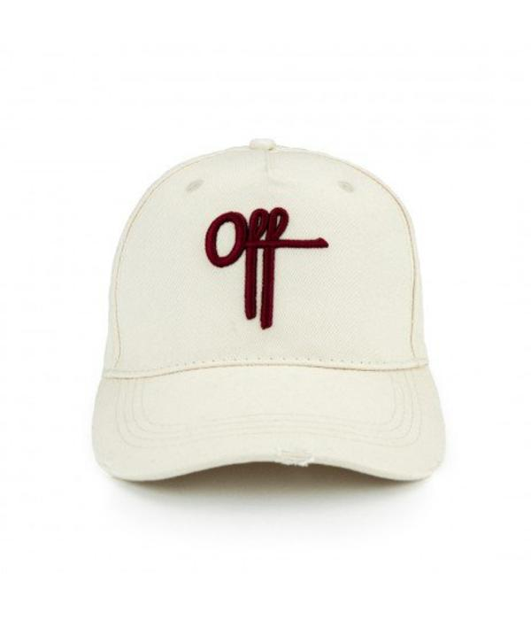 Off The Pitch OTP Off Cap Stone/Maroon