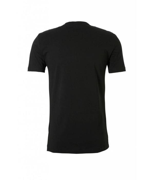 Antony Morato AM T-shirt Black Yellow MMKS01408