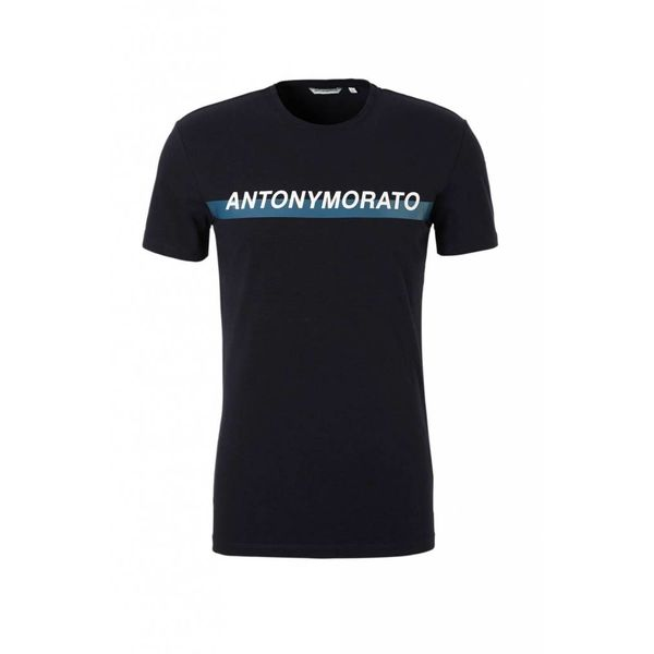 AM T-shirt MMKS01415 Navy
