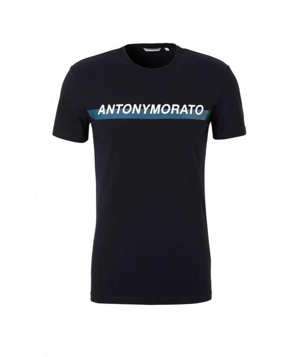 Antony Morato AM T-shirt MMKS01415 Navy