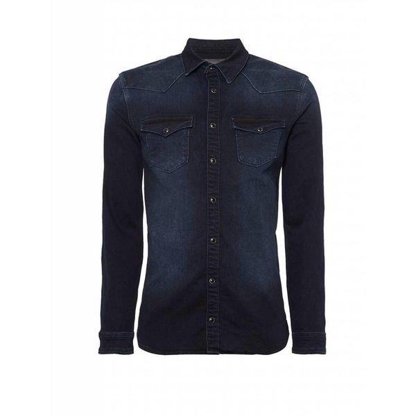 Purewhite blouse 18030211 Blue