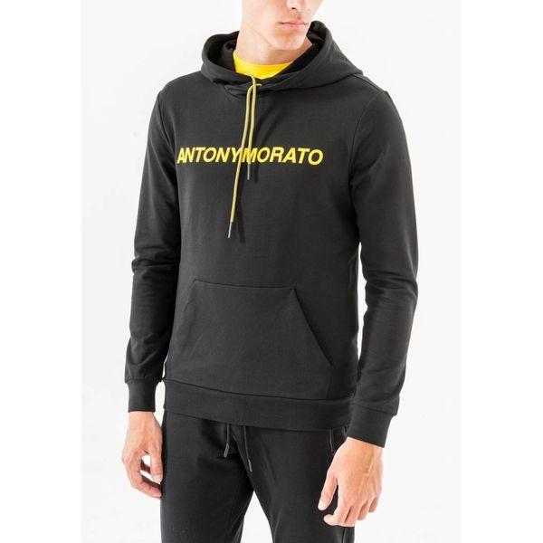 Antony Morato Hoodie MMFL00435 Black/Yellow