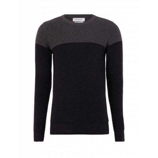 Purewhite Purewhite Sweater 18030815 Black