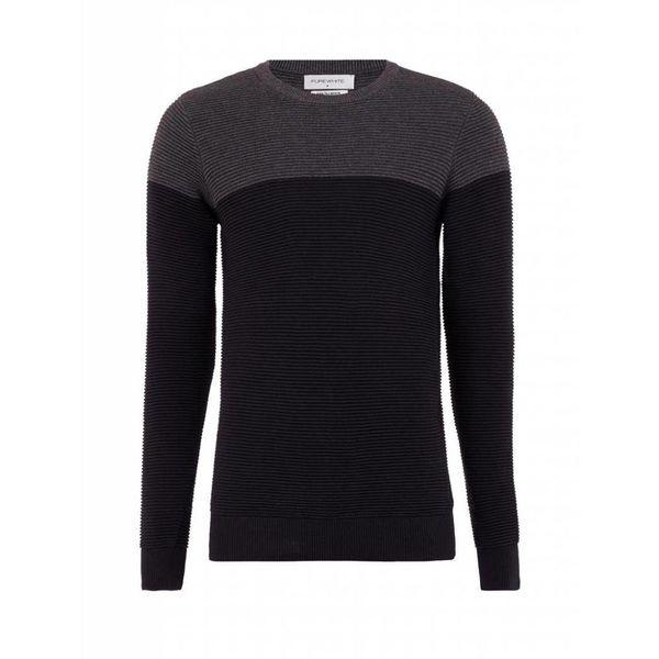Purewhite Sweater 18030815 Black