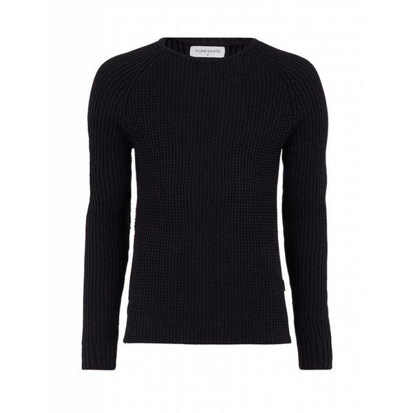 Purewhite Sweater 18030810 Black