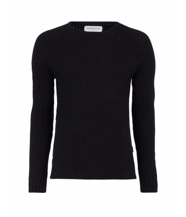 Purewhite Purewhite Sweater 18030810 Black