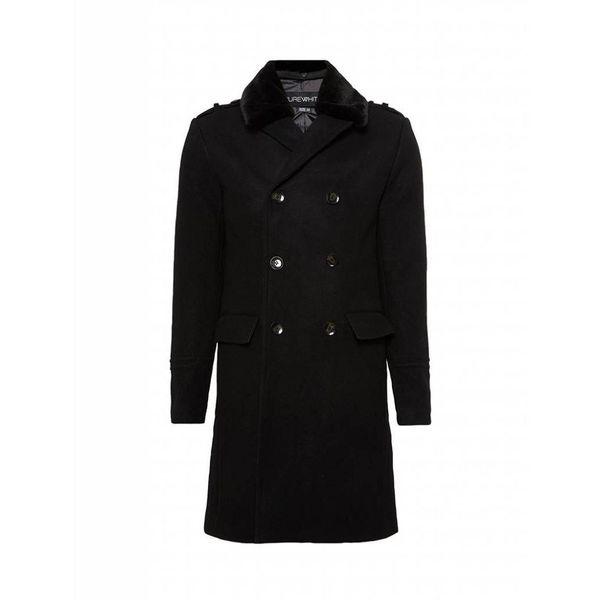 Purewhite Mantel 18030402 Black