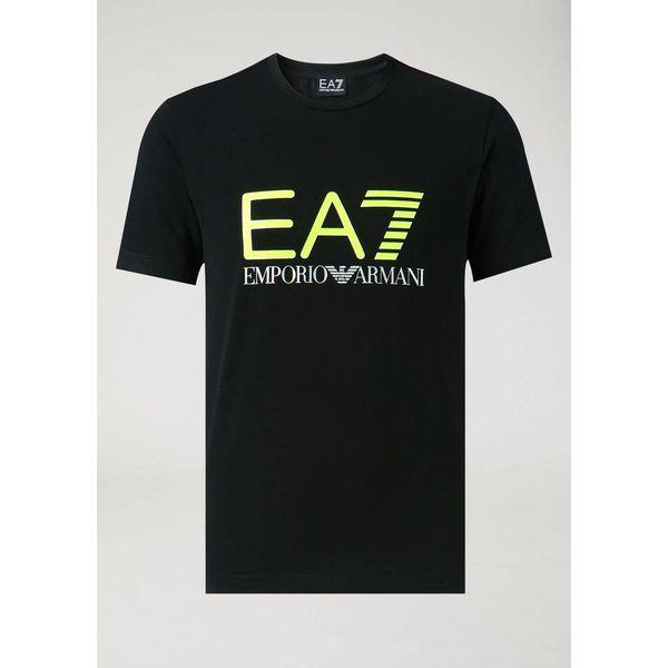 EA7 T-shirt Black/Yellow 6ZPT62