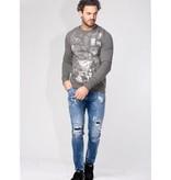 My Brand My Brand Lucky Numbers Sweater Grey