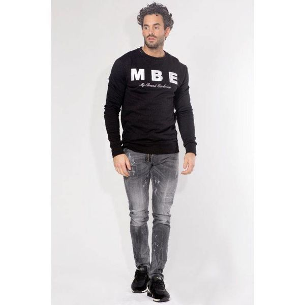 My Brand Logo Sweater Black