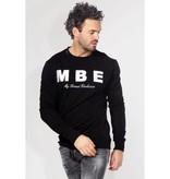 My Brand My Brand Logo Sweater Black