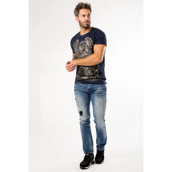 My Brand James 003 Jeans Light Mid Washed Blue