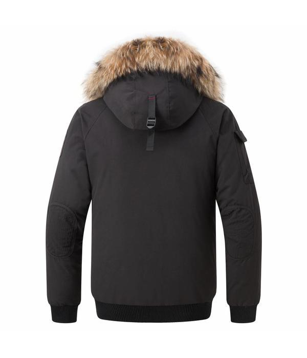 Helvetica Mountainpioneers Helvetica Mountainpioneers Jacket Black