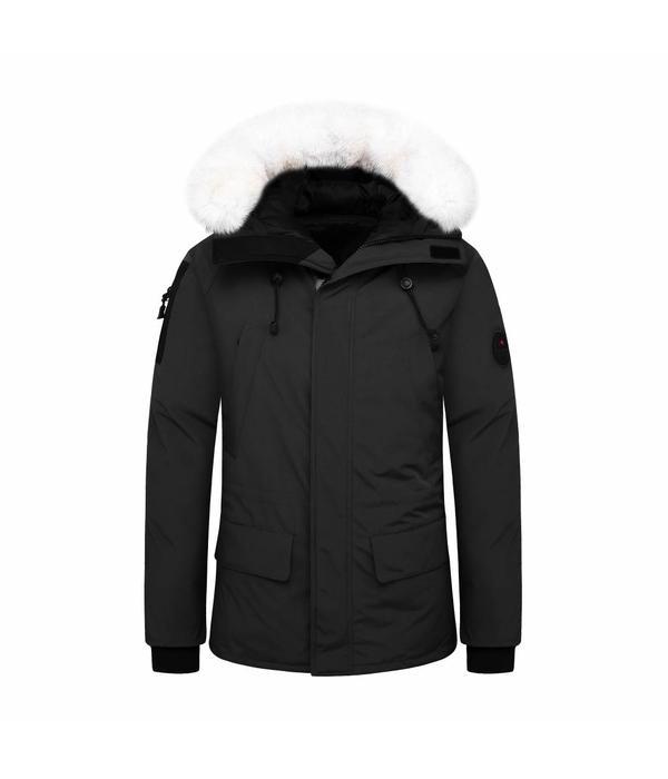 Helvetica Mountainpioneers Helvetica Jacket Artic-Black + Skimuts