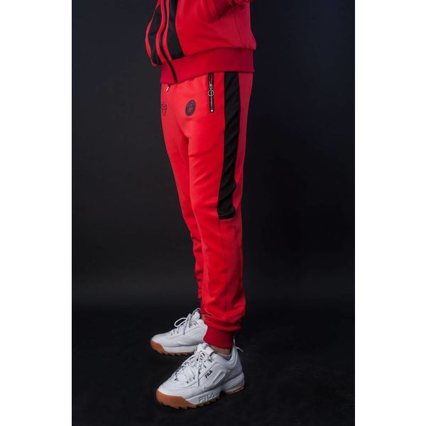 Black Bananas 2.0 F.C. Trackpants Red