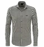 Zumo Zumo Check shirt LS Black