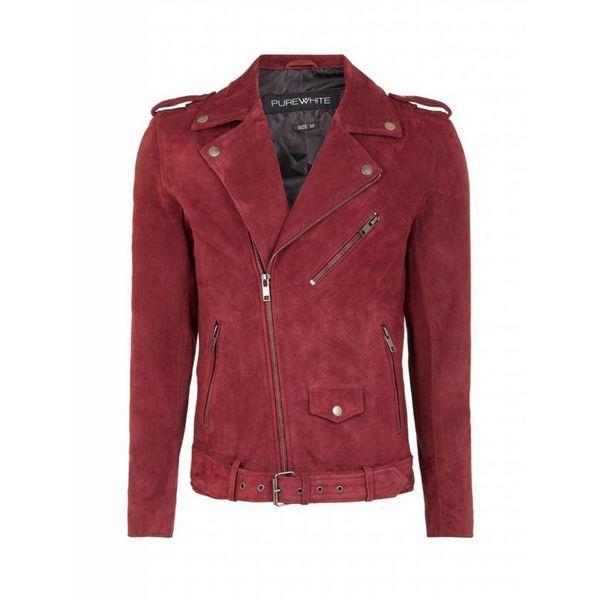 Purewhite Bordeaux Jacket 18030408