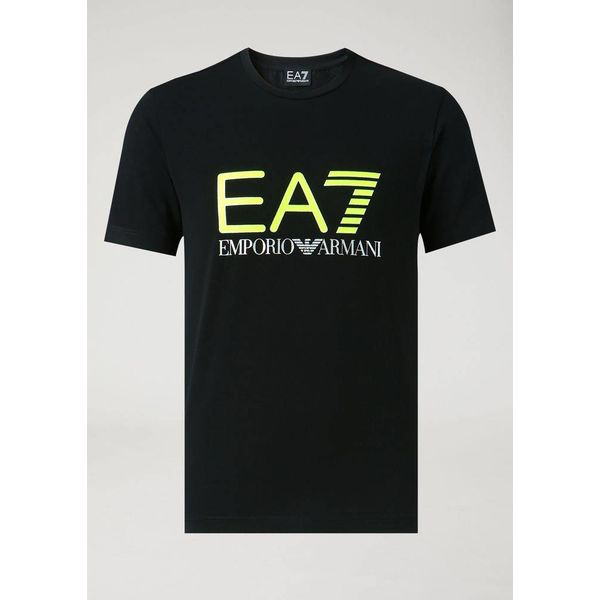 EA7 6ZPT61 T-shirt Black
