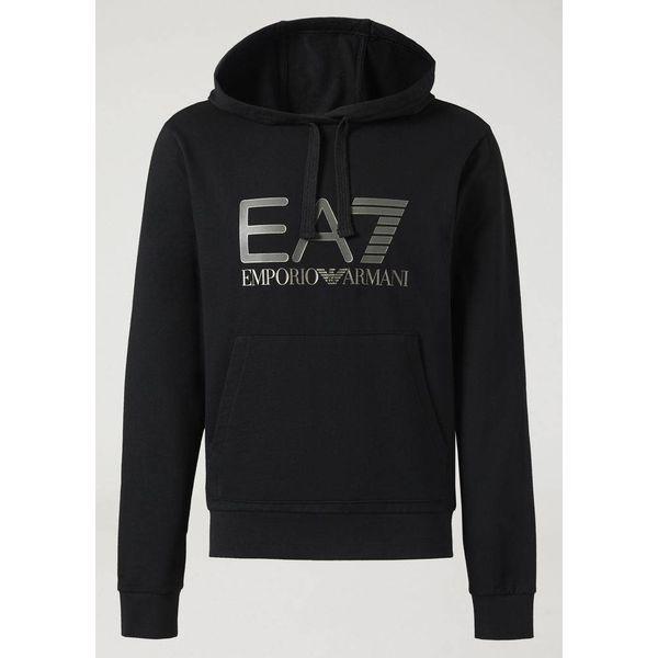 EA7 Hoody 6ZPM44 Black