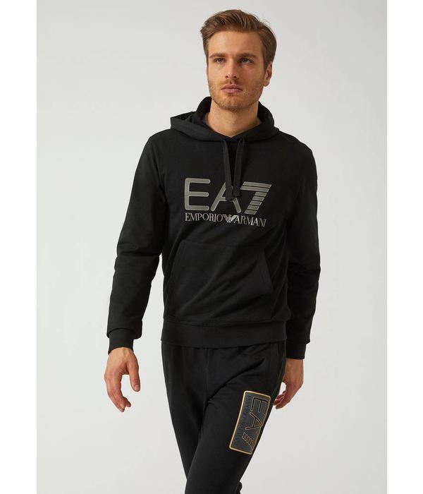 Emporio Armani EA7 Hoody 6ZPM44 Black