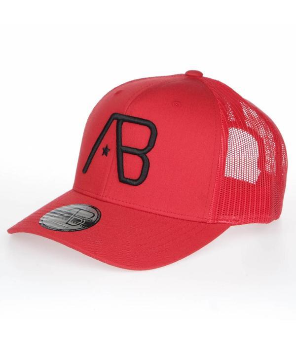 AB-Lifestyle AB Retro Trucker Cap  Red