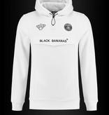 Black Bananas Black Bananas F.C. Anorak Hoody White
