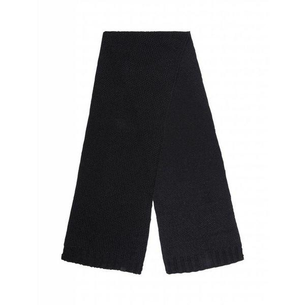 Purewhite Sjaal 18030701 Black