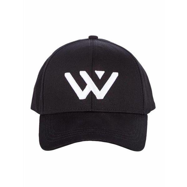 Purewhite Logo Cap Black/white