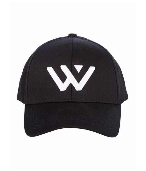 Purewhite Purewhite Logo Cap Black/white