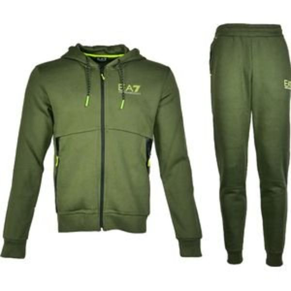 EA7 Tracksuit 6ZPV63 PJR6Z ARMY GREEN