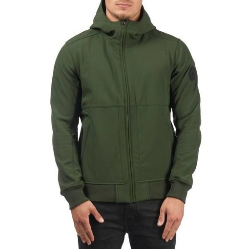 Airforce Airforce Rosin Green Softshell Casual Hooded Jacket