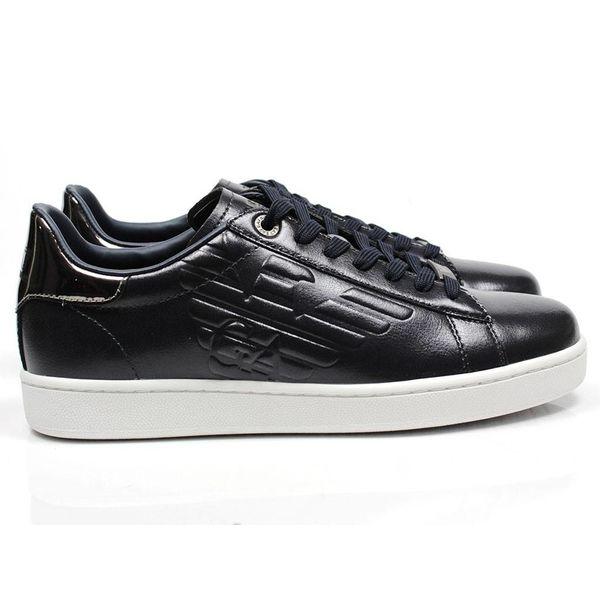 EA7 Sneaker X8X001 Dark Navy