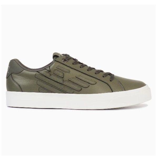 EA7 Sneaker Calflea Grey