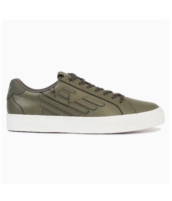 EA7 EA7 Sneaker Calflea Grey