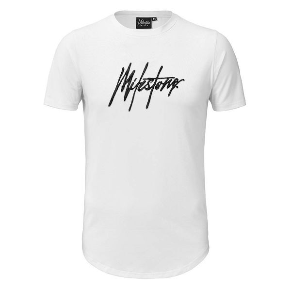 Milestone Signature T-shirt White