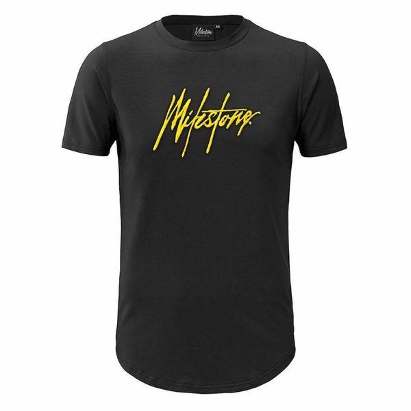 Milestone T-Shirt Black/Yellow