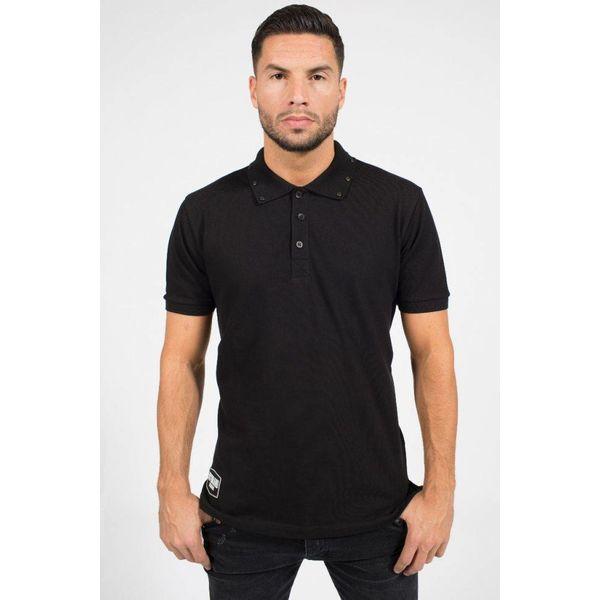 My Brand Studded Polo Black