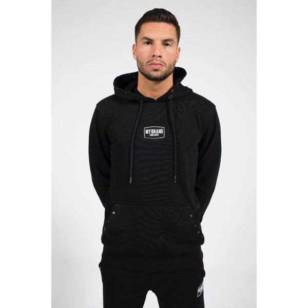 My Brand Studded Hoodie Black