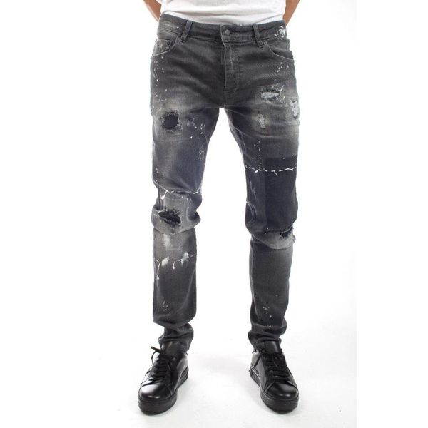 My Brand Jack 055 Destroyed Square Jeans Grey