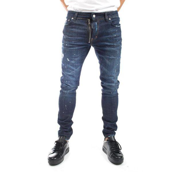 My Brand Jack 057 Basic Zipper Jeans Blue